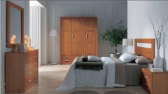 dormitorio madera actual