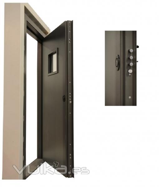 Fichet cajas fuertes puertas blindadas m laga - Puertas blindadas malaga ...