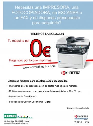KYOCERA -Fotocopiadoras en Lleida - IDEAL - NEOPOST - 973 21 16 74