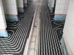 Eficiencia energética, suelo radiante