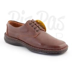 Cactus 4037 marr�n. zapatos fabricados en piel