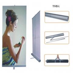 Roll up economicos y reutilizables para campa�as comerciales, altura variable.