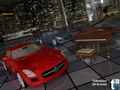 3d taevision - sinfon�a en la marca de la estrella dream_mb dreamvoz mercedes-benz sls amg (ii)