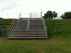 Escalera  Layher  Canal Olimpic Castelldefells  Maraton