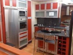 + cocina en laca y  marco aluminio+ encimera granito...3.650 EUR