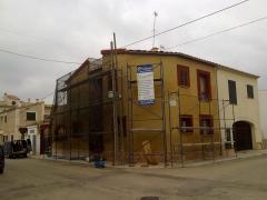 Restauracion de fachada en consell