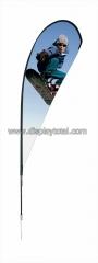 Banderola para banners en tela, tipo estación de esquí, para exteriores