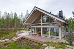 Casa de madera estilo POLAR