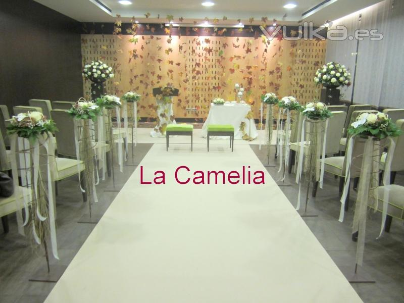 Foto decoraci n boda civil for Decoracion vigo