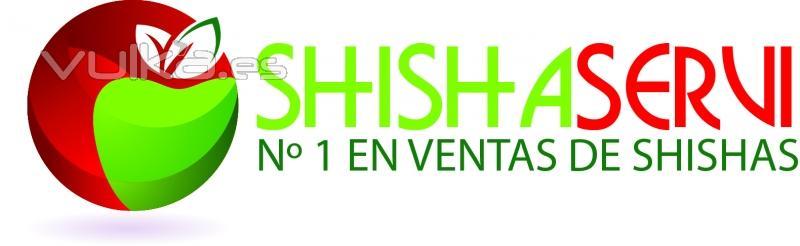 logotipo shishaservi  cachimbas logo