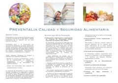 folleto informativo de la empresa