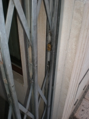 Rejas extensibles y persianas metalicas o trapas en guijuelo.