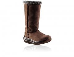 Davos brown, bota de mujer , suela senso,