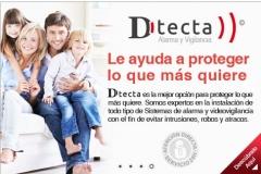 Alarma para casa,hogar/negocio dtecta by profuego.es alicante