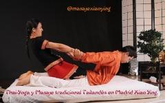 Masaje Tailand�s y Thai yoga masaje en Madrid con Xiao Ying.