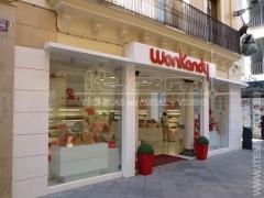 Instalación comercial wonkandy