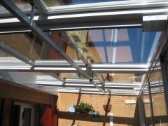 Exterior aluminio tejado
