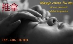 Tuina, masaje terapéutico tradicional chino.