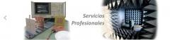 Servicios profesionales: diseño, fabricación, consultoría, e i+d+i entre otros.