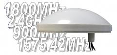 Antena combinada 4 en 1: gsm, dcs, gps y wifi
