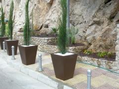 Ajardinamiento exterior en cullera (zona faro) valencia