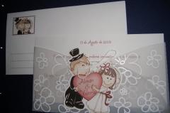 Invitaciones de boda desde 0.55eur