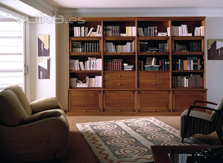 Foto estanteria de madera maciza globe helsinky - Muebles estanterias de madera ...