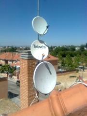 Antenas parabolicas madrid