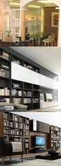 Libreria con separador de pladur - librer�as de madera novamobili