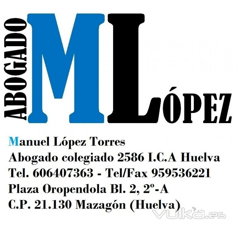 MLOPEZ Abogado Manuel López Torres