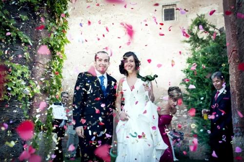 ARROZ EN LOS BOLSILLOS - Reportajes de boda