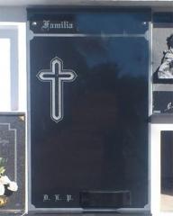 Cruz gotica tallada