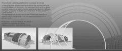 Proyecto de cubierta para front�n municipal