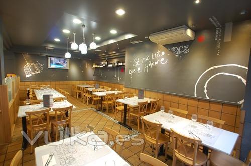 Foto Dise Os Para Las Paredes Del Restaurante Il Panettone