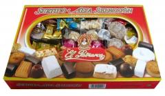 El patriarca surtido alta seleccion, mantecados, polvorones, mazapanes, bombones, turrones...