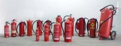 Hist�rico de extintores fabricados por nuestra empresa.