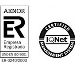 Nuestra empresa cuenta con diversos Certificados, entre ellos la ISO 9001:2008 a trav�s de AENOR.