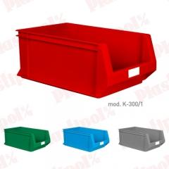 Caja de pl�stico con abertura frontal (ref. k-300/1)