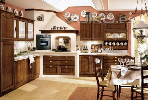 Foto modelo rustico con obra incluida for Cocinas rusticas de obra