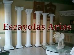 Columnas j�nocas, corintias, d�ricas. columnas a medida