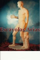 Disc�bolo de arl�s. escayolas arias. figuras art�sticas. esculturas