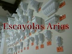 M�nsulas de escayola. escayolas arias