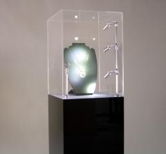 Vitrinas expositoras con iluminación led