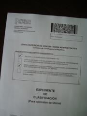 Clasificaci�n de empresas comunitat valenciana
