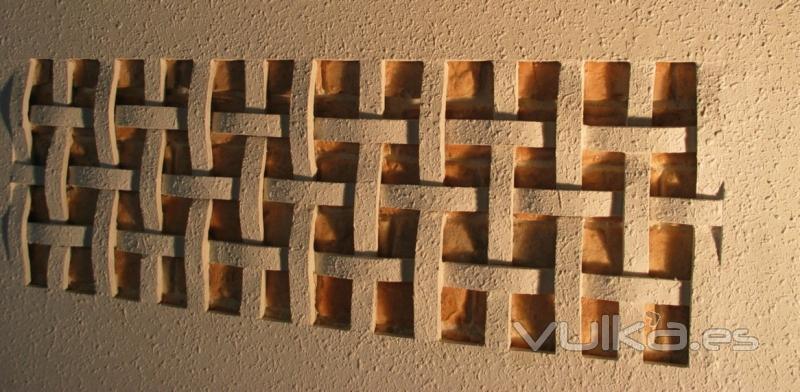 Foto cenefa tallada en relieve decoracion - Cenefas de madera para paredes ...