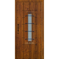 Puertas de seguriad r�sticas con textura
