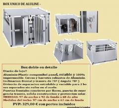 Bos de JLS Aluline, box en formato unico