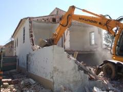 Proyecto de derrumbe vivienda, dirección de obra