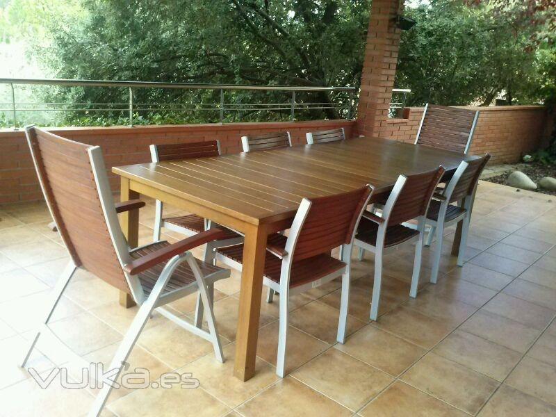 Puertas cocinas parquet y muebles a medida opyfex barcelona - Muebles exterior barcelona ...