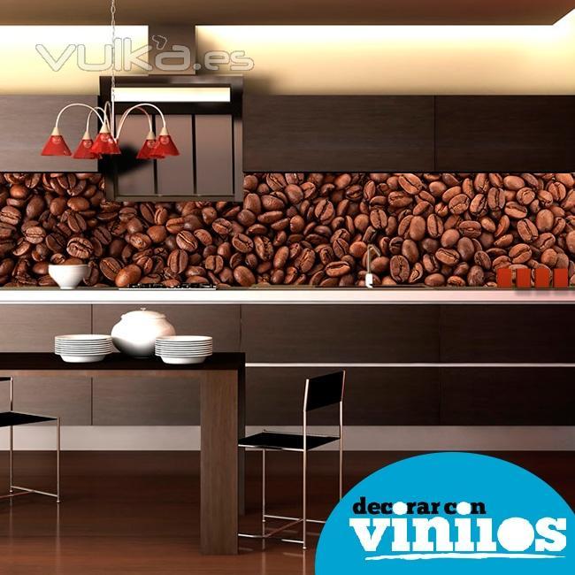 Decorar con vinilos - Murales para cocinas ...